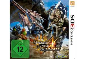 Monster Hunter 4 Ultimate (3DS) für 14€ versandkostenfrei (Media Markt)