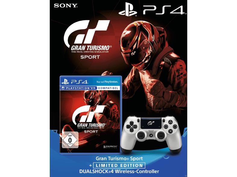 [SATURN.de] 3x Gran Turismo Sport PS4 mit 3x limitierten Wireless DualShock Controller Controller für 158€