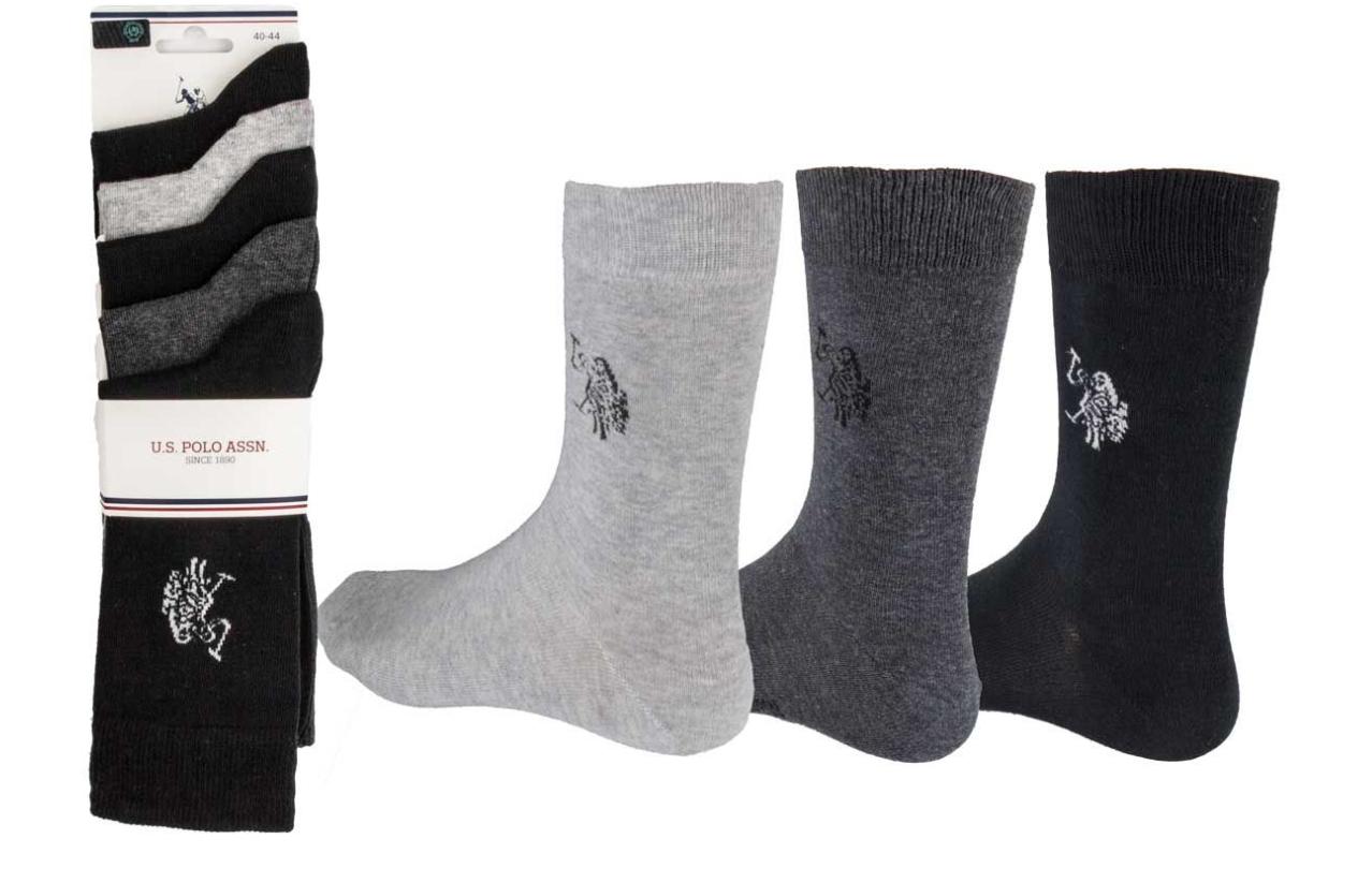 *Preise gesenkt* U.S. POLO ASSN Socken-Sale bei Top12, z.B. 24 Paar für 19,12€ / 30 Paar für 24,12€ (Einheitsgröße 40-44)
