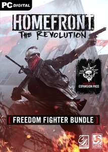 Homefront: The Revolution - Freedom Fighter Bundle (Grundspiel + Expansion Pass) für 7,20€ [Steam Key]