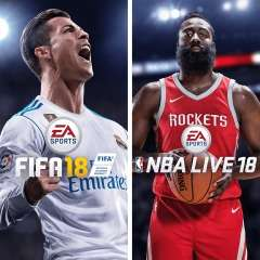 FIFA 18 + NBA LIVE 18 (PS4) für 33,33€ (PSN CA)