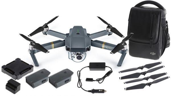 DJI Mavic Pro Fly More Combo grau - AMAZON WHD (Schnell sein) -  WIE NEU!! Oder die nur DJI MAVIC für 681,44 Euro !!!