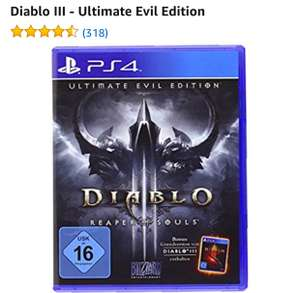 [Amazon] Diablo III - Ultimate Evil Edition (PS4) Blitzangebot