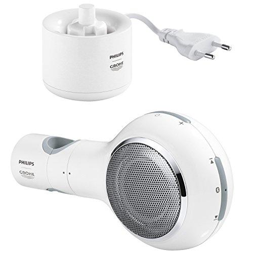 [Amazon] GROHE Aquatunes Kabelloser Bluetooth Dusch-Lautsprecher (wasserdicht) weiß/hellgrau 19,99 €