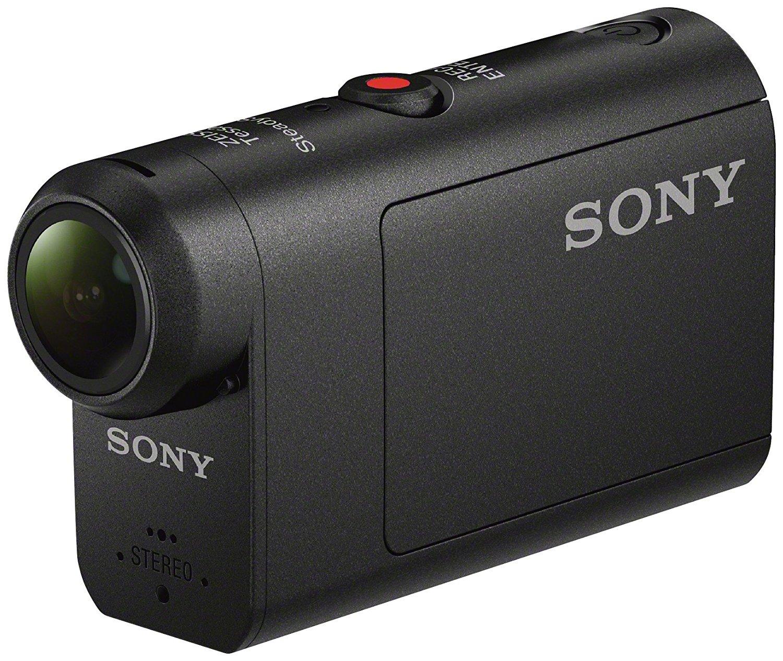 Sony HDR-AS50 Action Cam (3-fach Zoom, SteadyShot Bildstabilisation, Wi-Fi, mit 60 m Unterwassergehäuse) / WHD sehr gut ab 95,98€