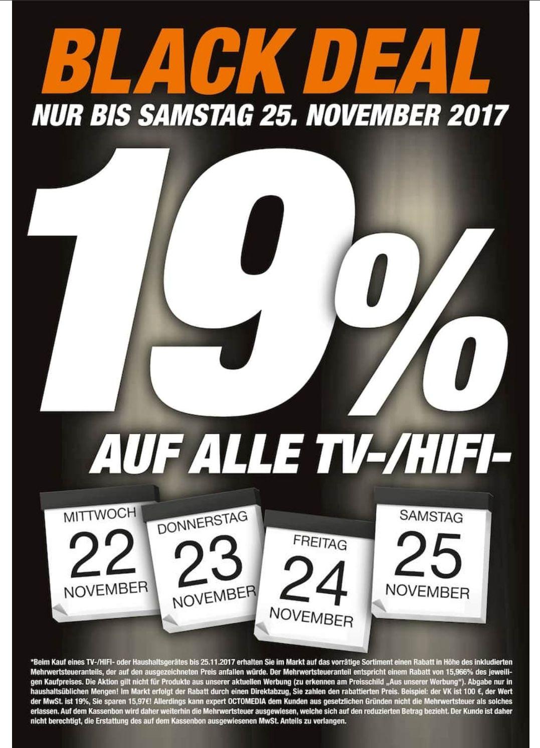 15.97% auf alle TV-/HiFi- und Haushaltsgeräte