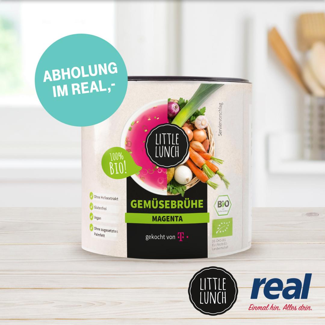 [Telekom Mega-Deal] Gratis Bio-Gemüsebrühe von Little Lunch & FamilyWall 3 Monate kostenlos (Android)