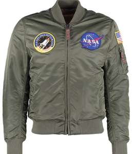 Alpha Industries - NASA MA-1 BomberJacke - only Oliv - Zalando