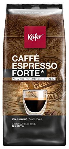[AMAZON PRIME] verschiedene Kaffeesorten als Angebote des Tages z.B. Käfer Espresso Forte, ganze Bohne, 1.000 g, 1er Pack (1 x 1 kg) als Sparabo für 7,50 €