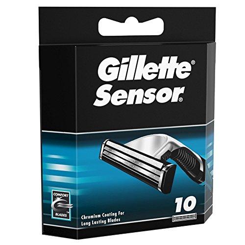Gillette Sensor Rasierklingen 10er