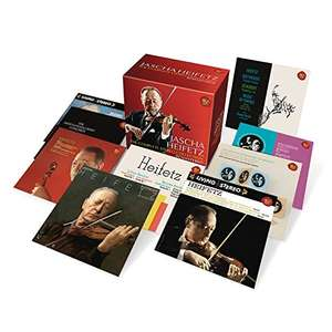[Amazon] Jascha Heifetz - Complete Stereo Collection Remastered (24 CDs)