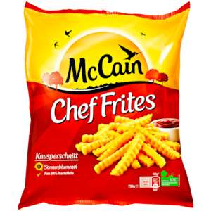 [REWE Dortmund] -41% McCain Chef Frites, Golden Longs oder Steakhouse Frites