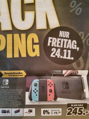 [LOKAL / Medimax Wernigerode] //   Nintendo Switch Konsole // Nur Black Friday 24.11.