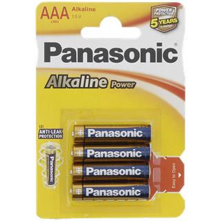 Panasonic 4er Pack Batterien AA oder AAA bzw 1 Stück 9V für 0,79€ @ Action (offline)