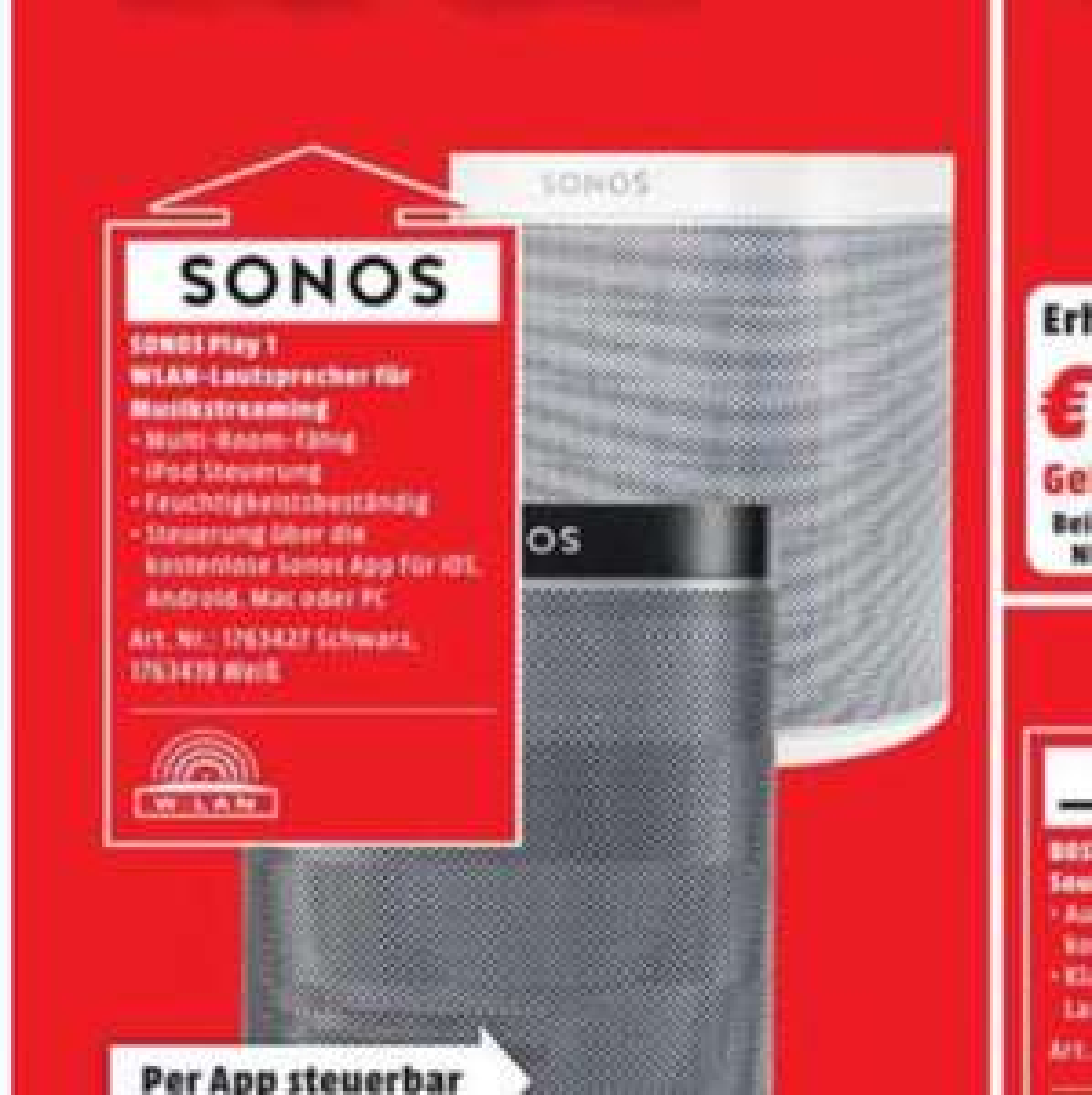 [Lokal] München Media Markt München Sonos Play 1