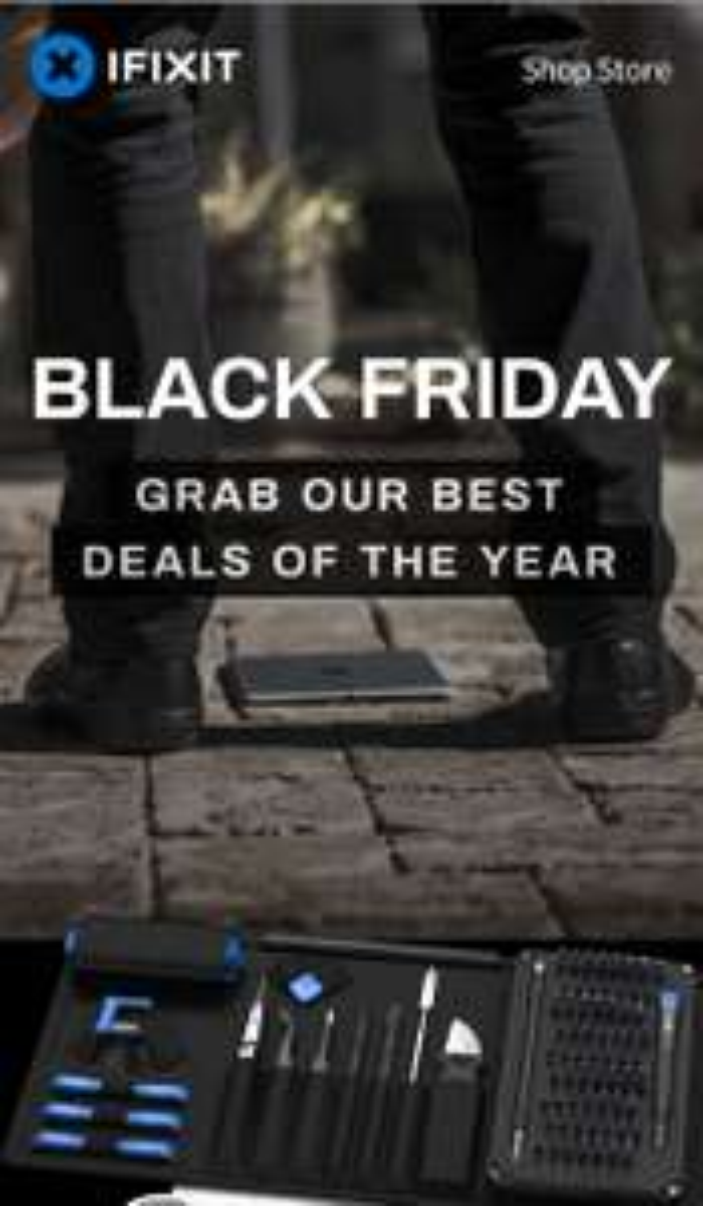 Black Friday auf iFixit