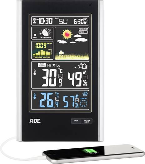 [Voelkner] ADE Funk-Wetterstation WS 1600 Vorhersage für 1 Tag Handyladefunktion