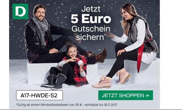 5€ Rabatt auf Mid Season Sale