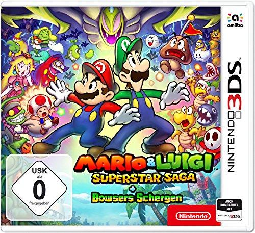 Mario & Luigi: Superstar Saga + Bowsers Schergen (Nintendo 3DS)  bei Amazon