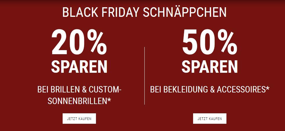 Oakley Black Friday: 20% bis 50% sparen