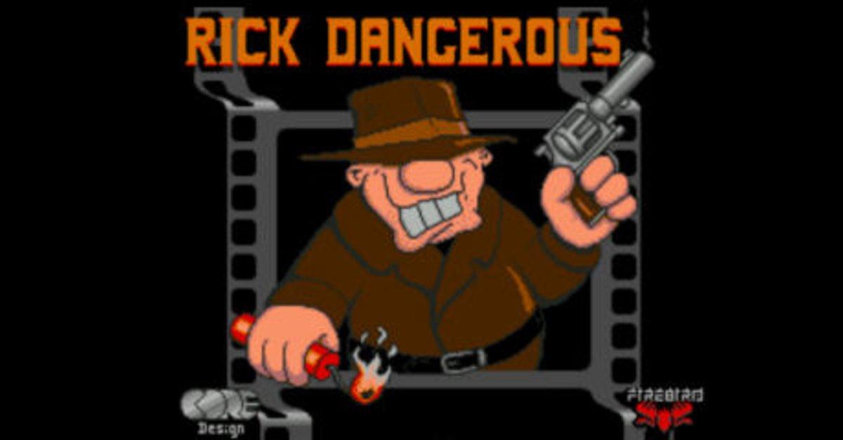 Rick Dangerous - gratis im Browser spielen