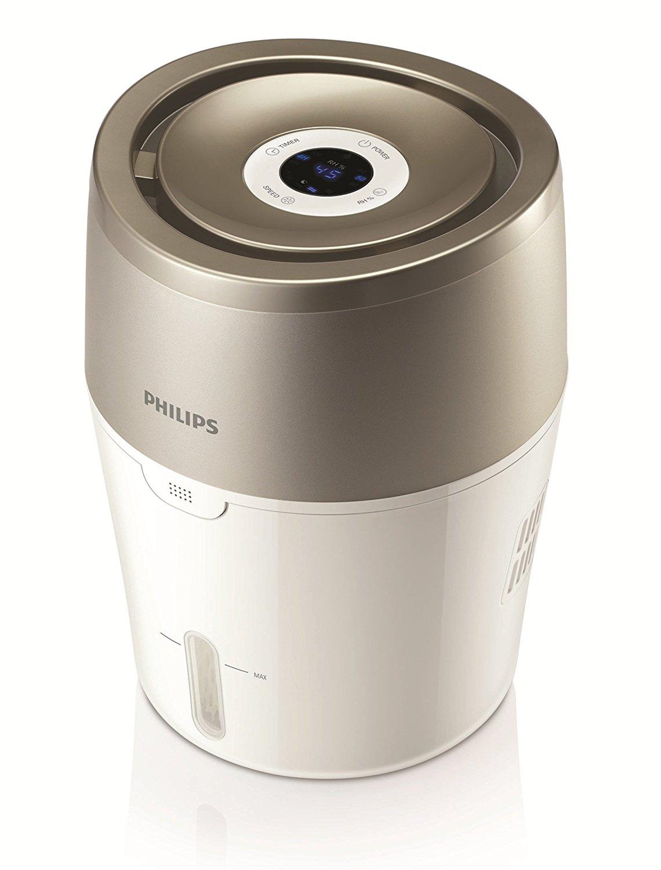[Amazon - Blitzangebot] Philips HU4803/01 Luftbefeuchter (bis zu 25m², hygienische NanoCloud-Technologie, leiser Nachtmodus, Automodus) 77,67 €