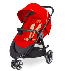 Buggy cybex Agis M-Air 3 in rot oder lila im Tagesangebot bei Babymarkt + Amazon