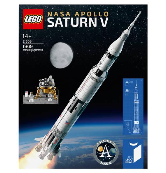[Verfügbarkeitsdeal - Galeria Kaufhof] LEGO Ideas NASA Apollo Saturn V 21309