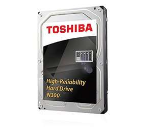 [amazon.fr] Toshiba N300 8TB high performance HDD für Dauereinsatz / NAS / Server