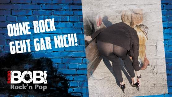[Bundesweit] Huldigt dem Rock mit Radio BOB - gratis Poster + Aufkleber und kostenloser Versand
