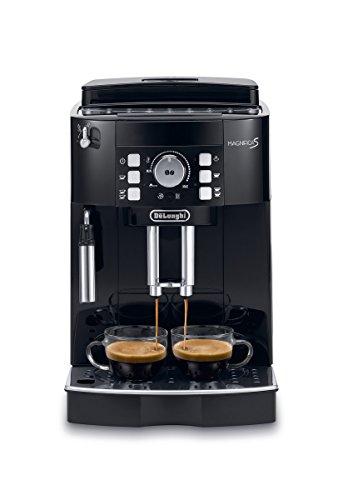 [Amazon] De'Longhi Magnifica S ECAM 21.116.B Kaffeevollautomat (Direktwahltasten und Drehregler, Milchaufschäumdüse, Kegelmahlwerk 13 Stufen, Herausnehmbare Brühgruppe, 2-Tassen-Funktion) schwarz - Vorbestellung -