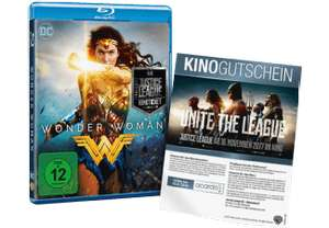 Wonder Woman (Blu-ray) + Justice League Kinoticket für 16,99€ versandkostenfrei (Saturn)