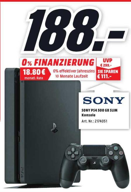 PS4 Slim 500GB Lokal Rostock Brinkmansdorf nach Umbau ab 23.11.2017