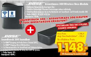 [Lokal Euronics Ratingen] Bundle - Bose Soundtouch 300 + Bose Acoustimass 300; je 649€ online