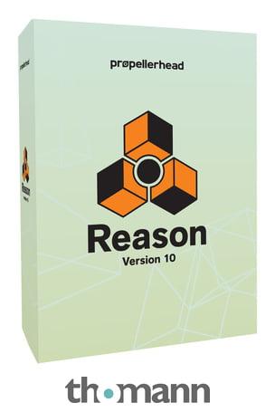 Reason 10 für 259€ (seit 9.5 mit VST Support!)