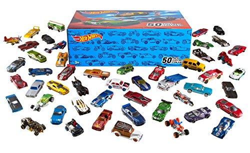 Mattel Hot Wheels - Customized Car Pack, 50er Pack inkl. Vsk für ca. 39,15 € [amazon.uk]