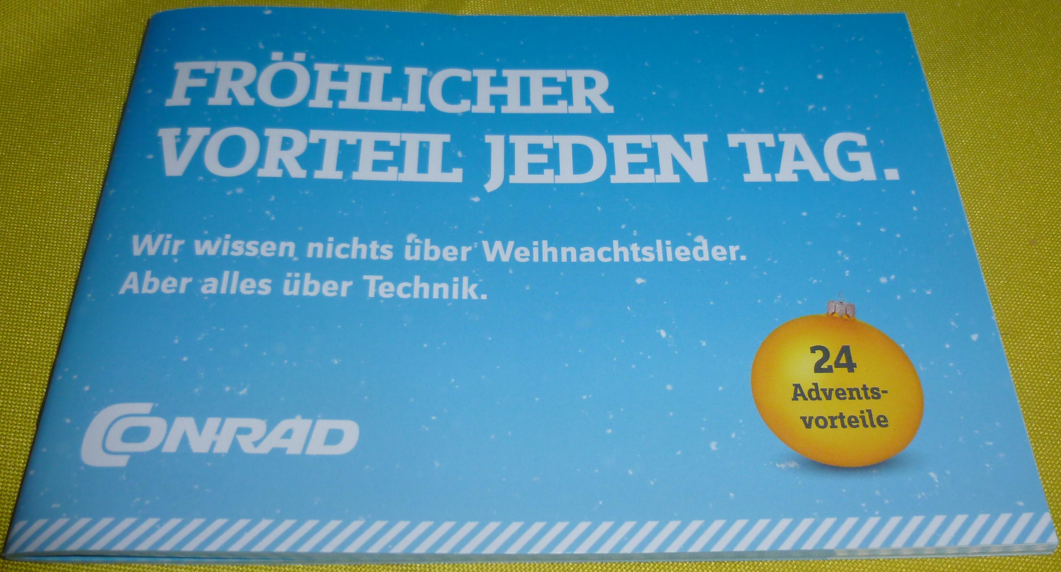 Offline Conrad 50€ Geschenkkarte für 40€ am 15. + 16.12. Coupon erforderlich.