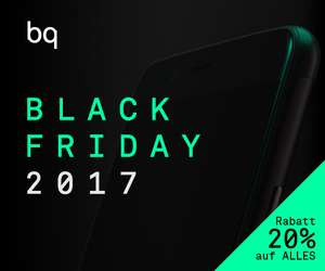 BQ - Black Friday & Cyber Monday Super Rabatt 20% auf ALLES [bq.com]
