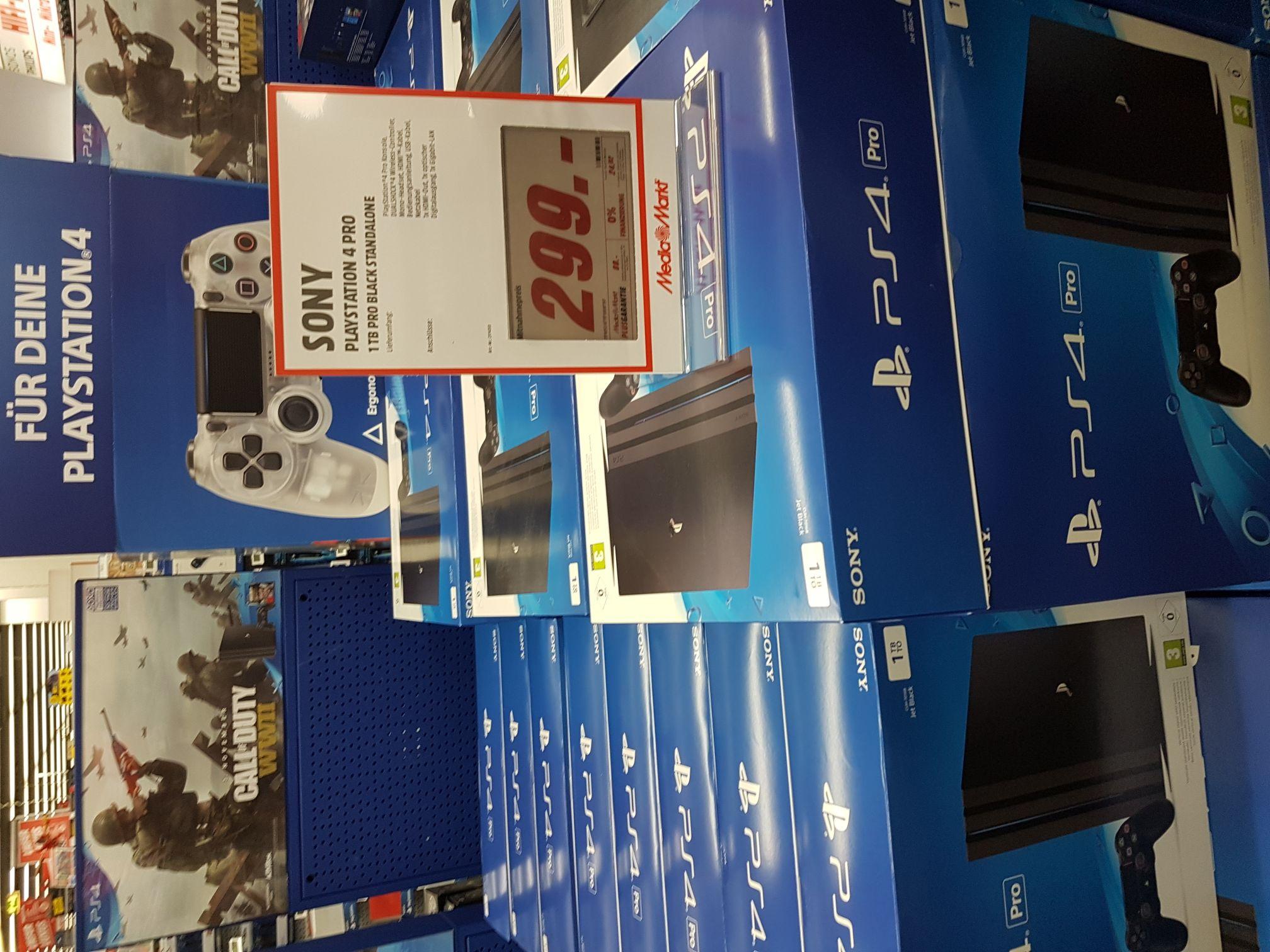 [Lokal] Media Markt Magdeburg Bördepark Playstation 4 Pro 1 TB
