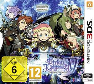 [amazon] Etrian Odyssey V Beyond the Myth (Nintendo 3DS) für 29,19€