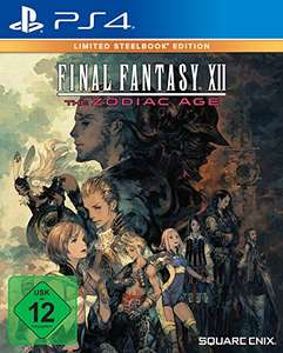 Final Fantasy XII: The Zodiac Age Limited Steelbook Edition (PS4) für 32,99€ (Amazon & GameStop)