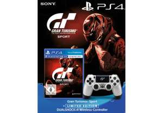 Gran Turismo Sport + Wireless Dualshock Controller GT Sport - Playstation 4 PS4 (Lokal Saturn Aachen)