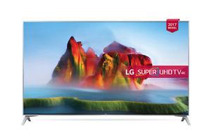 LG 49SJ800 Super Ultra HD B-Ware  mit Glück(wahrscheinlich) Neugerät + Netflix Aktion + Magic Remote