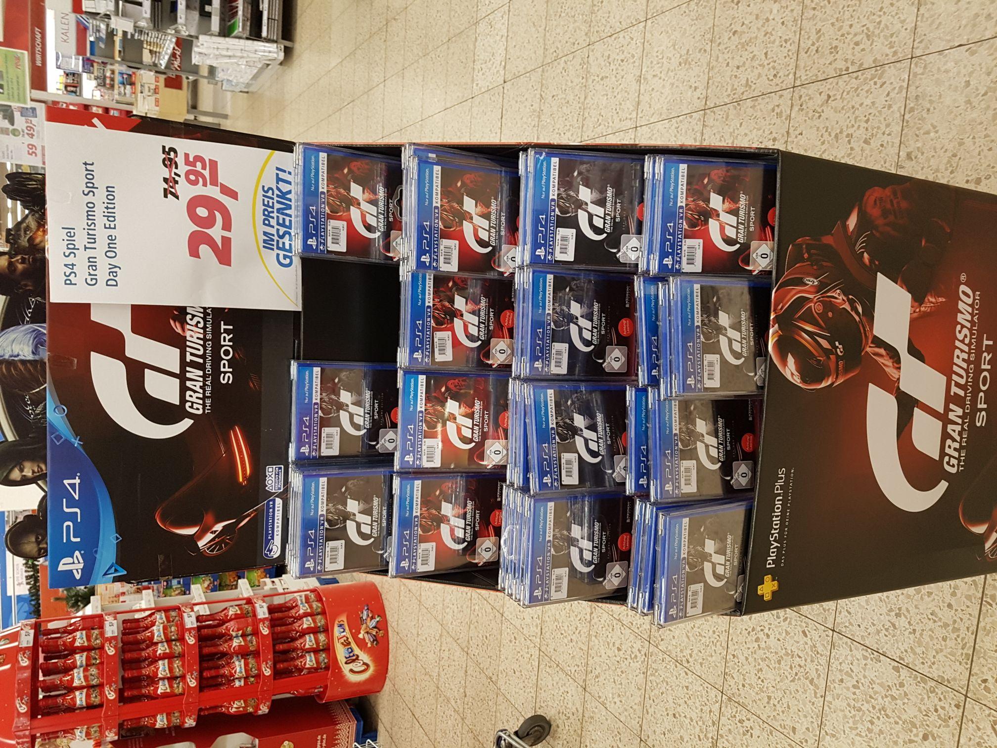 Gran Turismo PS4 bei Real für 29.95 € evtl. Lokal? Hamm Heessen