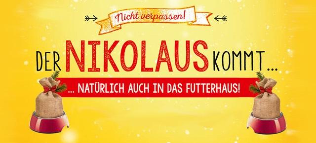 DAS FUTTERHAUS - Nikolausaktion 2017