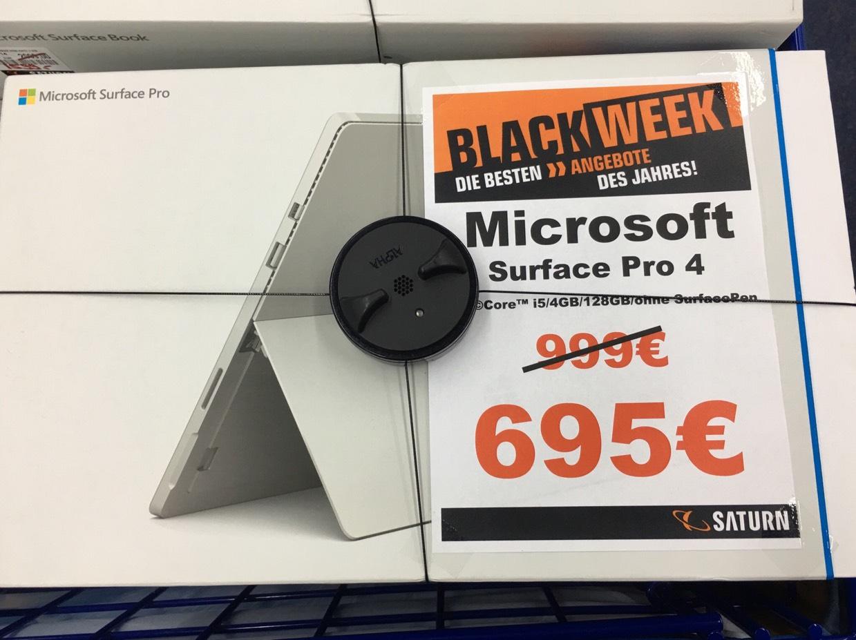 Microsoft Surface Pro 4 i5 4 GB RAM 128 GB