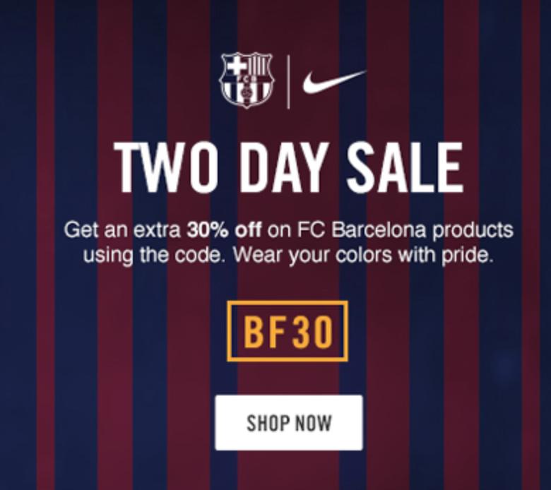 FC Barcelona SALE + 30% Gutschein