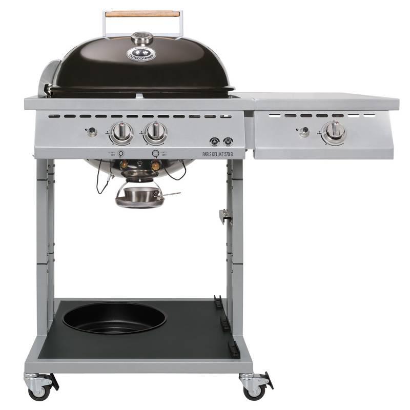 Zeit für einen Grill z.B. Outdoorchef Paris DeLux 570, Grilleye, BBQ Rub