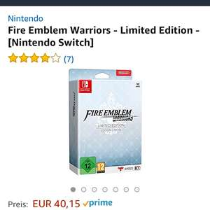 (Amazon.de) Fire Emblem Warriors - Limited Edition für Switch