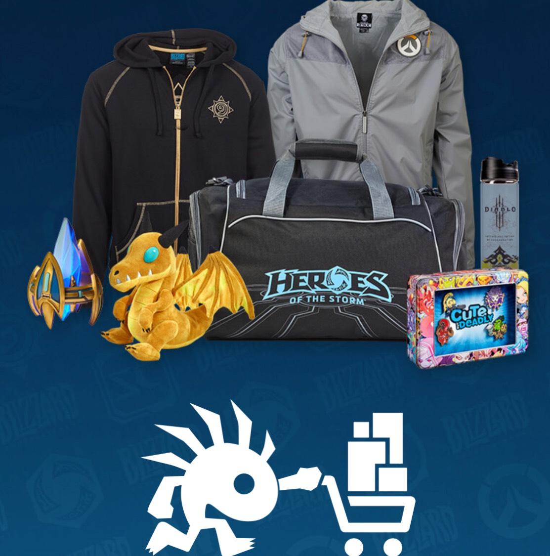 Sale im Blizzard Gear-Shop mit bis zu 75 % Rabatt